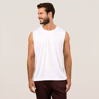 Camisola de alças do desempenho dos homens t-shirt