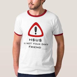 Camisola de Exclamatian - H$U$ não é o franco do T-shirts