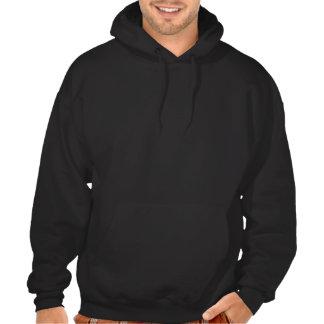 camisola desvanecida - preto moleton com capuz