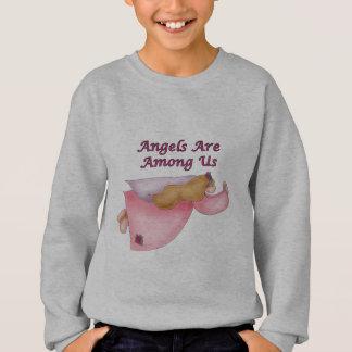 Camisola do anjo do miúdo agasalho