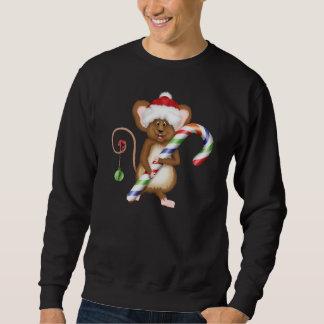Camisola dos homens do rato do feriado do Natal Sueter