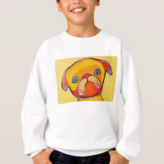 Camisola dos miúdos com o cão de filhote de t-shirts