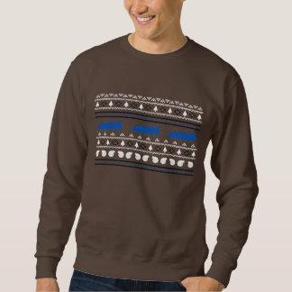 Camisola feia do carro de Turbo do Natal Suéter