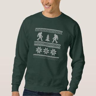 Camisola feia do Natal de Bigfoot Moletom