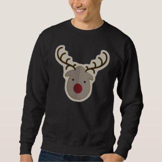 Camisola feia do Natal de Rudolph Moletom