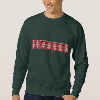 Camisola feia do Natal do teste padrão da árvore Moletom