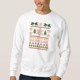 Camisola feia do Natal, estilo do rodeio Moletom