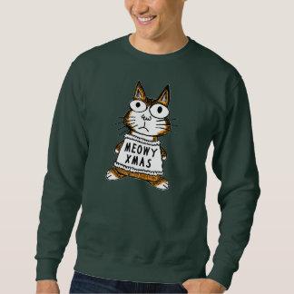 Camisola feia do Natal -- Xmas de Meowy Suéter