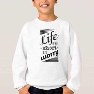 Camisola inspirador inspirada das citações agasalho