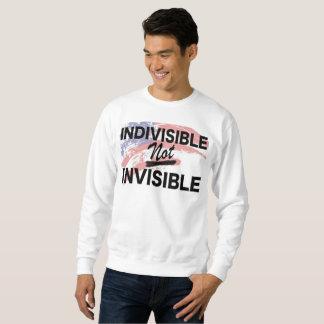 Camisola nao invisível indivisível moletom