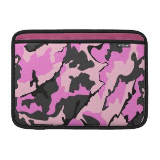 """Camo cor-de-rosa, 11"""" luva horizontal para o ar de bolsa de MacBook"""