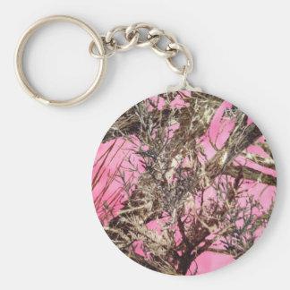 Camo cor-de-rosa - presentes da camuflagem - chaveiro