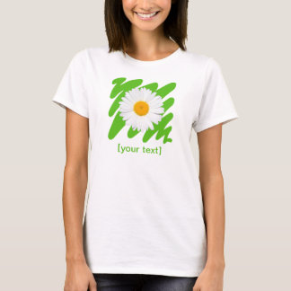 Camomila (margarida) camiseta
