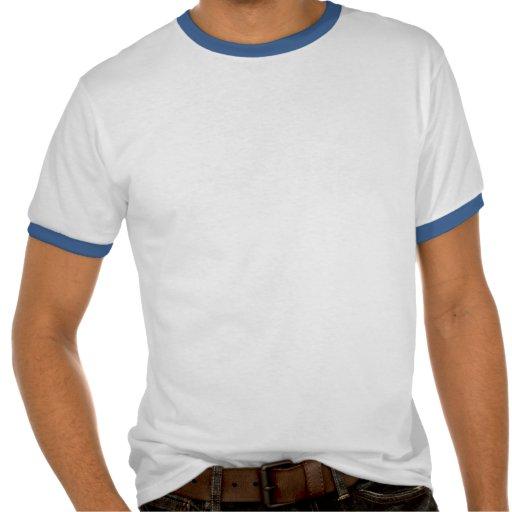 Campainha branca e azul de Italia Camisetas