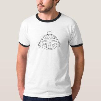 Campainha do macaco da neve camiseta