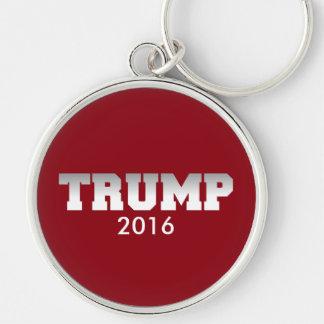 Campanha do trunfo 2016 chaveiro redondo na cor prata