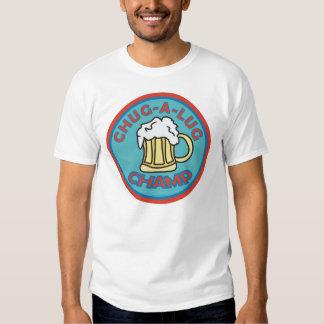Campeão do Chug-UM-Talão T-shirt