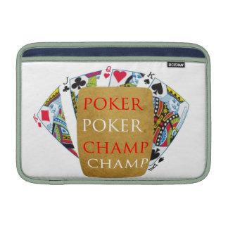 Campeão do póquer ART101 - texto do desenhista da Capas Para MacBook Air
