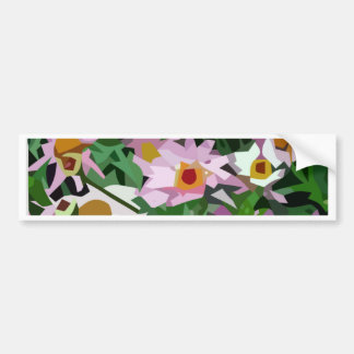 Campo de flores adesivos