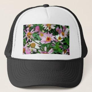 Campo de flores boné