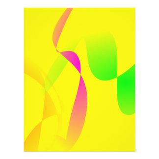 Campo de milho na luz do dia modelo de panfletos