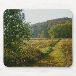 Campos do Condado de Brown Mouse Pad