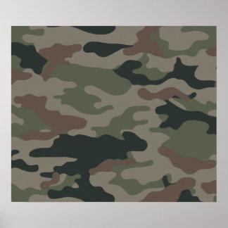 Camuflagem do exército no verde e nas forças armad impressão