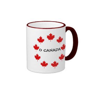 CANADÁ O CANADÁ CANECA COM CONTORNO