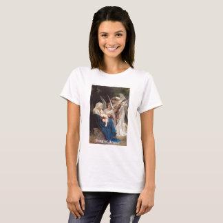 Canção da Virgem Maria do vintage do t-shirt dos