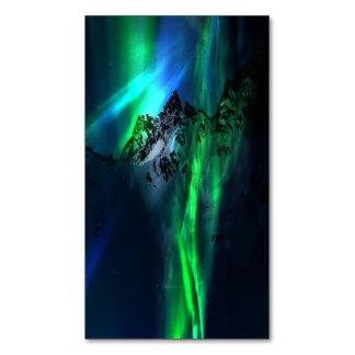 Canção das montanhas cartão de visitas magnético