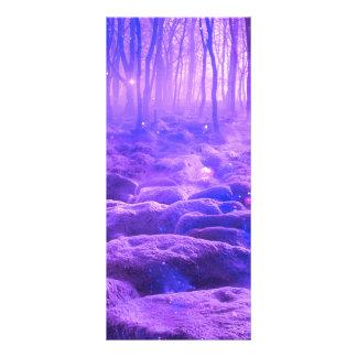 Cancelamento na floresta 10.16 x 22.86cm panfleto
