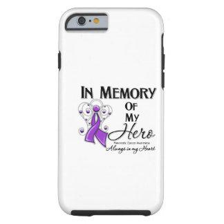 Câncer de pâncreas na memória de meu herói capa para iPhone 6 tough