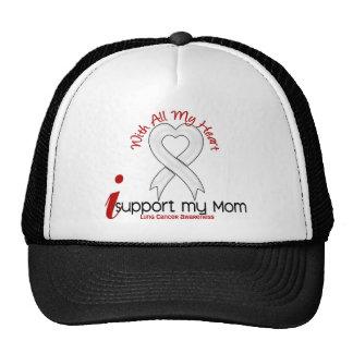 Câncer pulmonar eu apoio minha mamã bone