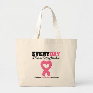 Cancro da mama cada dia mim senhorita Meu Avó Bolsa Para Compras