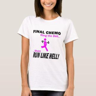 Cancro da mama - Chemo final funciona muito Tshirts