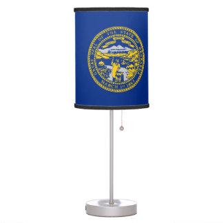 Candeeiro de mesa patriótico com a bandeira de