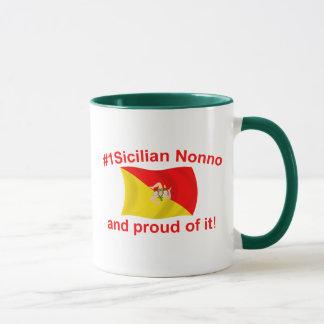Caneca #1 orgulhoso Nonno siciliano