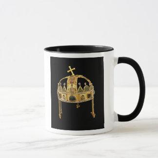 Caneca A coroa santamente de Hungria, 11o-12o século