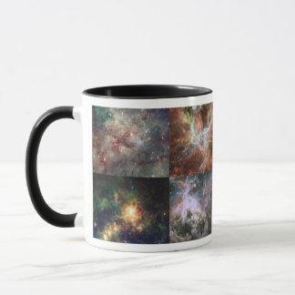Caneca A nebulosa do Tarantula - quatro vistas