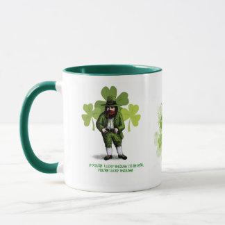 Caneca Afortunado bastante para ser irlandês