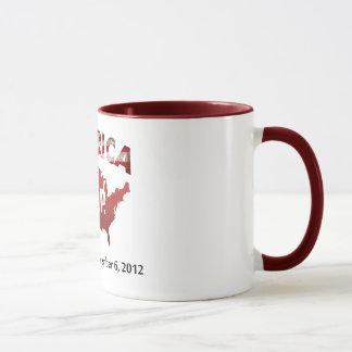 Caneca América: R.I.P. 4 de julho de 1776 - 6 de novembro