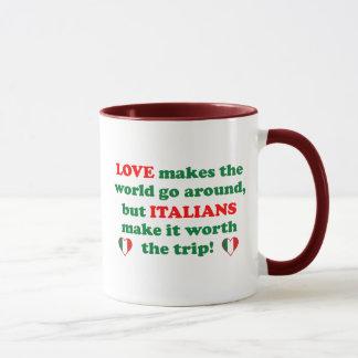 Caneca Amor italiano