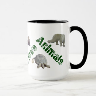 Caneca animals verde