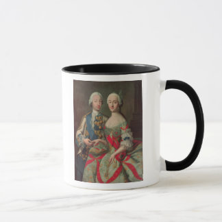 Caneca Archduchess Maria Caroline de Áustria