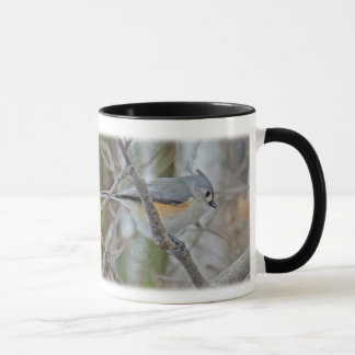 Caneca Artigos adornados do Titmouse (Baeolophus bicolor)