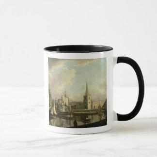 Caneca Bacia de doca de George, Liverpool, 1797 (óleo no