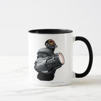Caneca Busto do Cyborg & da arma