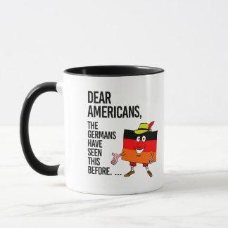 Caneca Caros americanos - nós temos visto este antes -