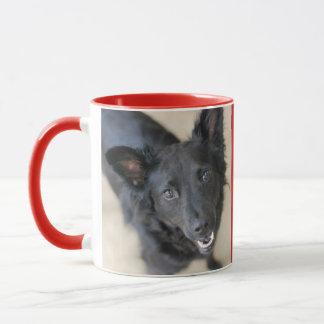 Caneca central personalizada do cão do Woof