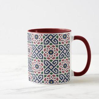 Caneca cerâmica árabe marroquina da campainha do